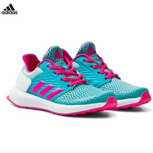 adidas Blue Pink RapidaRun Cloud Fitfoam Trainer 7